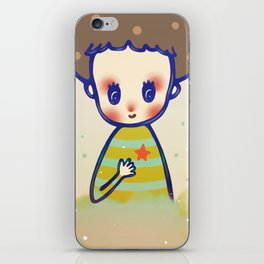 the little star in my heart iPhone Skin