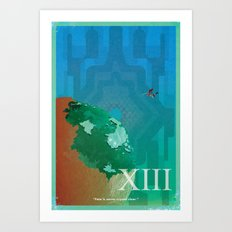 Vintage FF Poster XIII Art Print