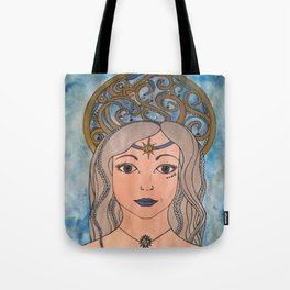 Keeper of the night sky Tote Bag