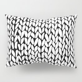 Hand Knitted Loops Pillow Sham