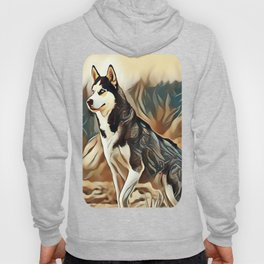 The Siberian Husky Hoody