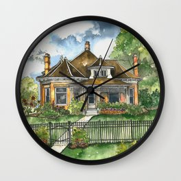 The House on Spring Lane Wall Clock
