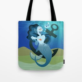 Silly Bestiary : The Mermaid Tote Bag