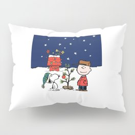 Snoopy Christmas Pillow Sham