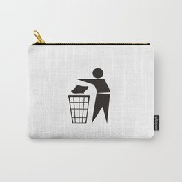 trash can sign Carry-All Pouch