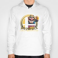 super smash bros Hoodies featuring Wario - Super Smash Bros. by Donkey Inferno