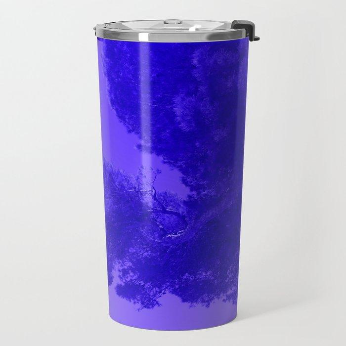 Blue Summer Pines Travel Mug
