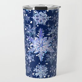 Snowflakes #3 Travel Mug