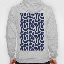 Blue dalmatian pattern Hoody