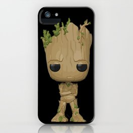 Little Groot iPhone Case