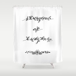 Champion of Ladydom No. 4 Shower Curtain