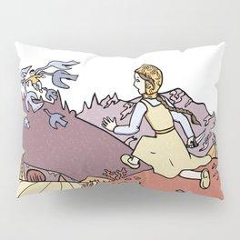 The Magic Swan Geese Pillow Sham