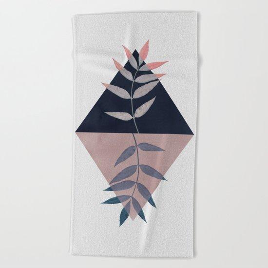 Geometry and Nature 3 Beach Towel