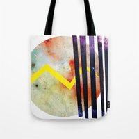 attack on titan Tote Bags featuring Titan. by Crazy&CoolDesigns