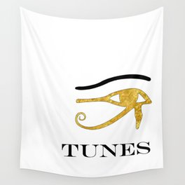 Eye Tunes Wall Tapestry