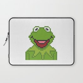 Kermit The Muppets Pixel Character Laptop Sleeve