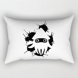 Blooper Ink Stain Rectangular Pillow