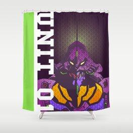 EVA-01 Shower Curtain
