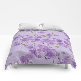 Cherry Blossoms in Spring Comforters
