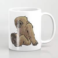 bigfoot Mugs featuring Bigfoot by Savannah Horrocks
