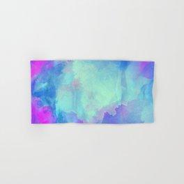 Watercolor abstract art Hand & Bath Towel