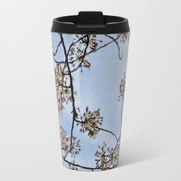 Petals and Sky Travel Mug