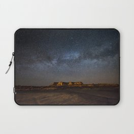 Across the Universe - Milky Way Galaxy Above Mesa in Arizona Laptop Sleeve