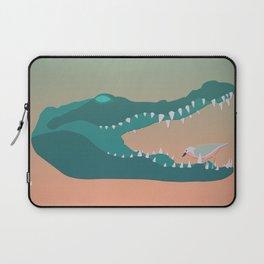 Croc Toothbrush Laptop Sleeve