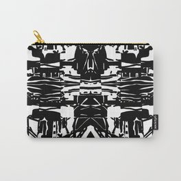 Black and White pattern. Carry-All Pouch