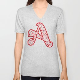 Scarlet A - Version 2 Unisex V-Neck
