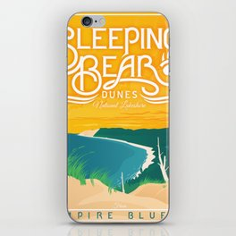 Sleeping Bear Dunes iPhone Skin