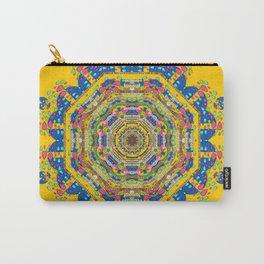 Happy fantasy earth mandala Carry-All Pouch