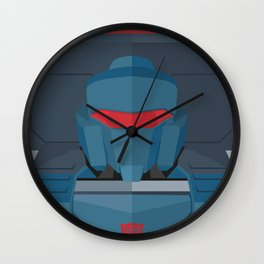 Pipes MTMTE Wall Clock