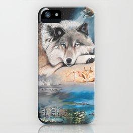 Cancer- The Zodiac Wildlife Series iPhone Case