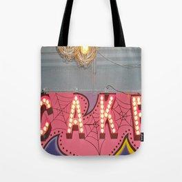 Cake ~ pop carnival signage Tote Bag