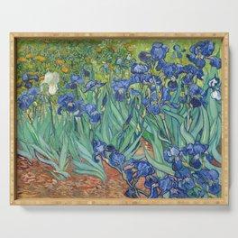 Irises - Vincent Van Gogh Serving Tray