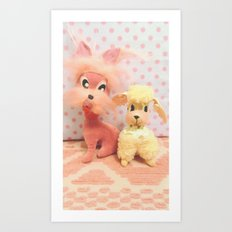 laverne and fifi Art Print