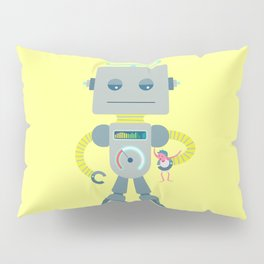 Robo Ludens Pillow Sham