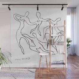 Henri Matisse -The Dance - Sketch Reproduction Wall Mural