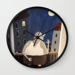 Cute Cartoon Man Wall Clock