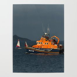 RNLI Lifeboat Torbay Poster