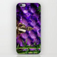 purple Buddha iPhone & iPod Skin