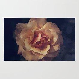 Midnight Rose Rug