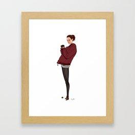 Les Parisiens - Catharina Framed Art Print