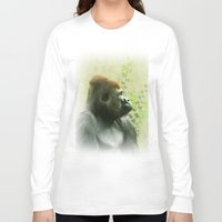 ape Long Sleeve T-shirts featuring Ape by Shalisa Photography