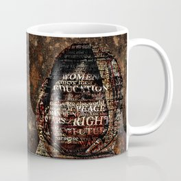 One Book, One Pen, One Child, and One Teacher Can Change The World !!! Coffee Mug