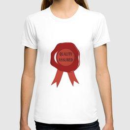 Wax Stamp Quality Assured T-shirt