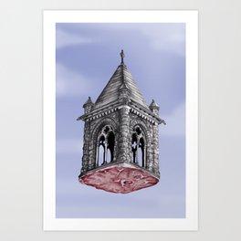 Fleshy Architecture  Art Print