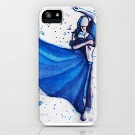 Blue Dancer iPhone Case