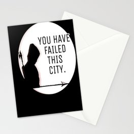 You have failed this city Stationery Cards